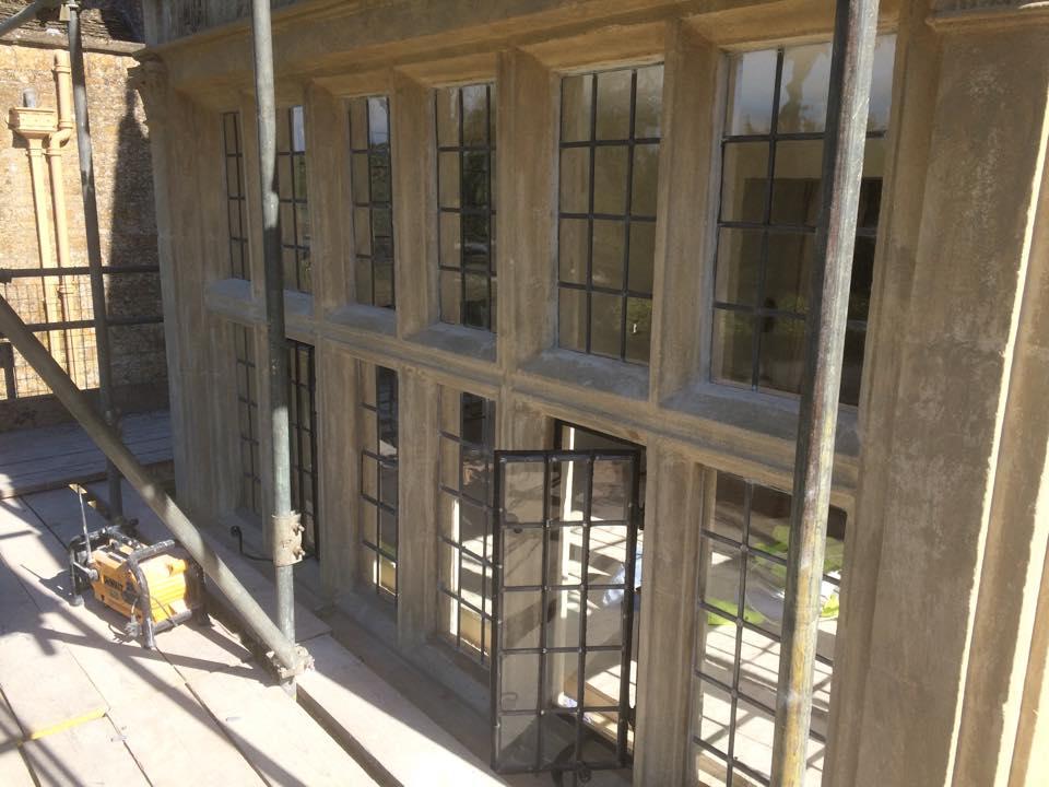 Wood Mullions For Windows : Stone mullion window repairs cornwall